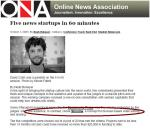Stroome Wins Online News Association 'Audience Award': October 29, 2009